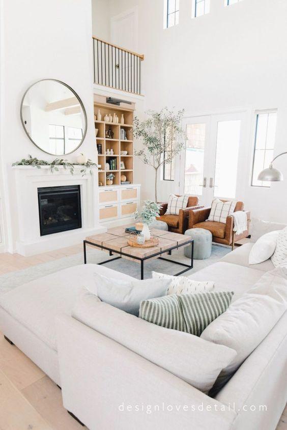 White Living Room Ideas 17