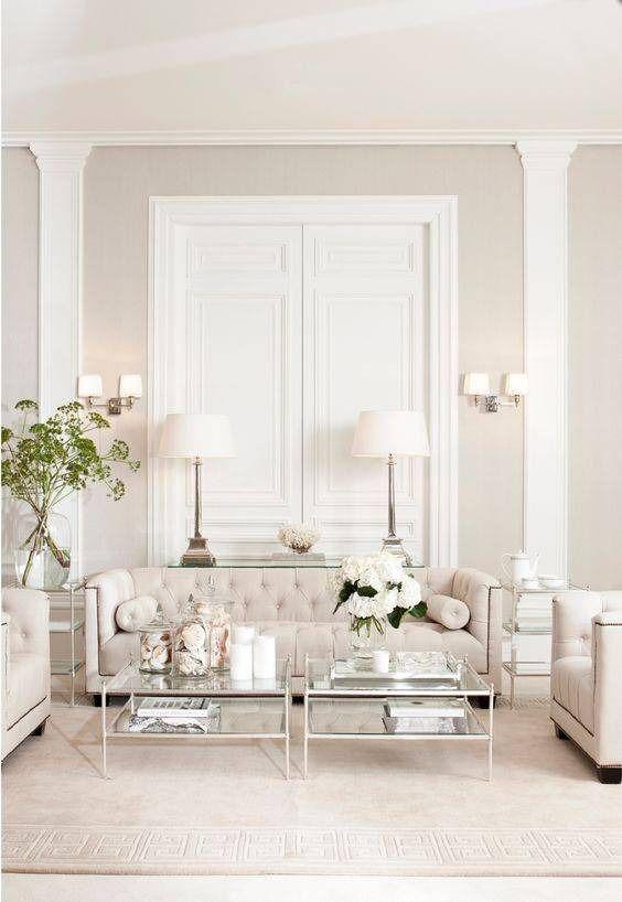White Living Room Ideas 20