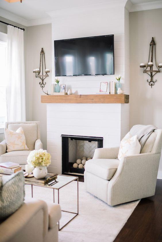 White Living Room Ideas 4