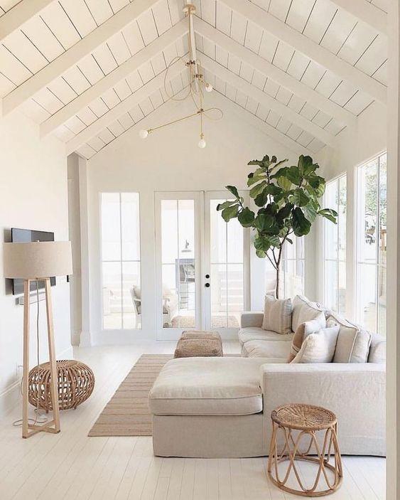 White Living Room Ideas 5