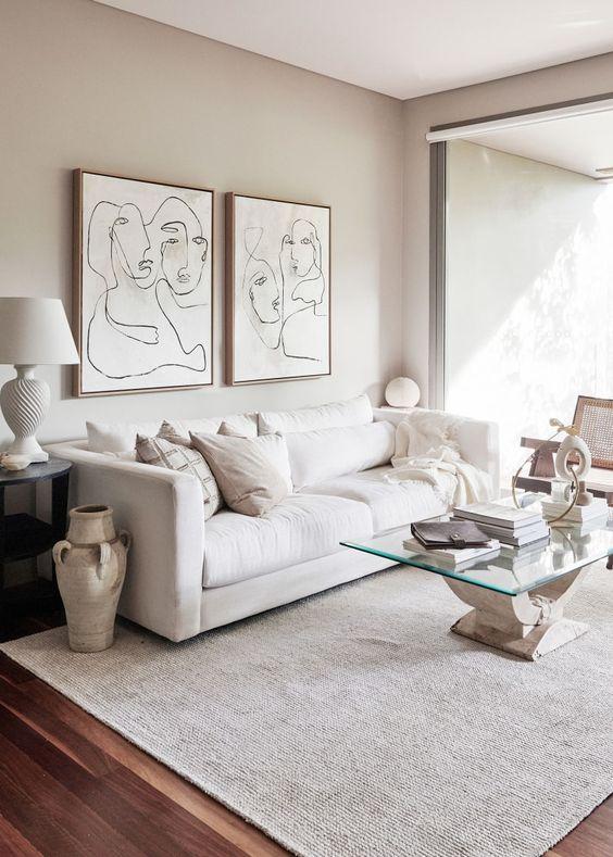 White Living Room Ideas 6