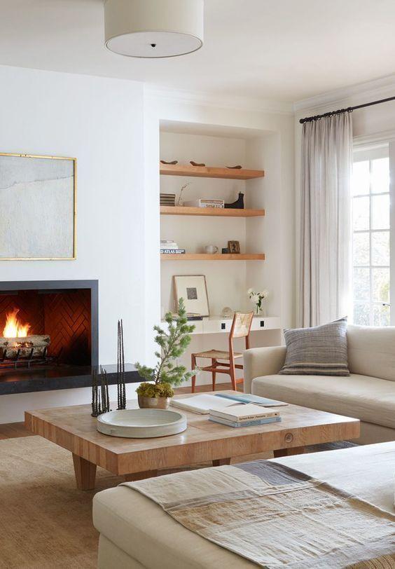 White Living Room Ideas 9