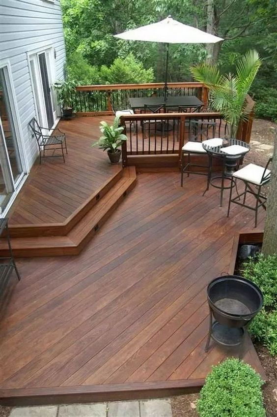 Wood Patio Ideas 11