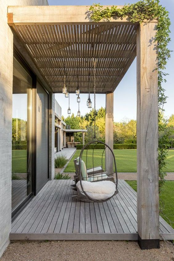 Wood Patio Ideas 12