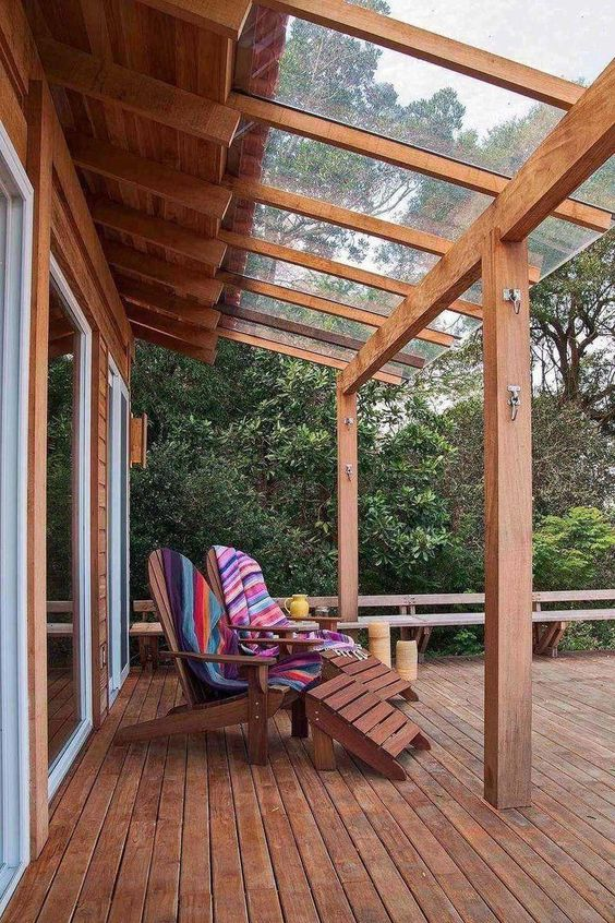 Wood Patio Ideas 17