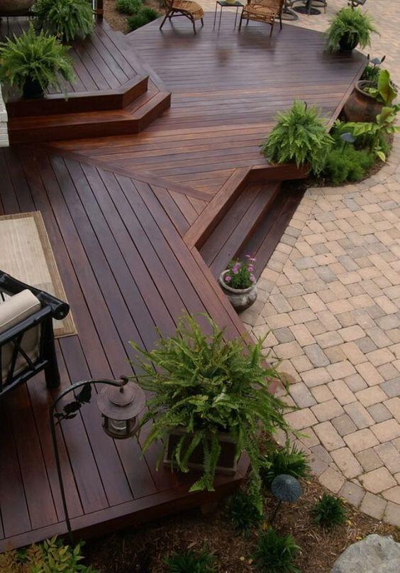 Wood Patio Ideas 18