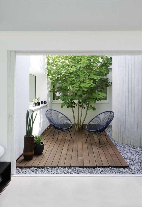 Wood Patio Ideas: Simple Wood Patio