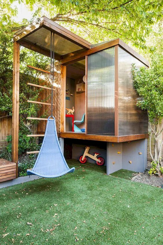 Backyard for Kids Ideas: Cozy and Fun Area