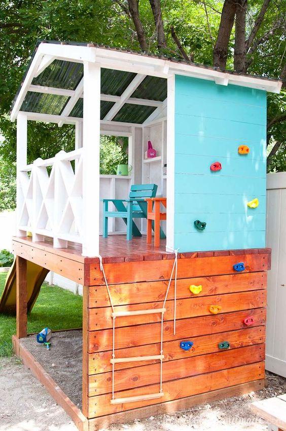 Backyard for Kids Ideas: Fun Open Castle