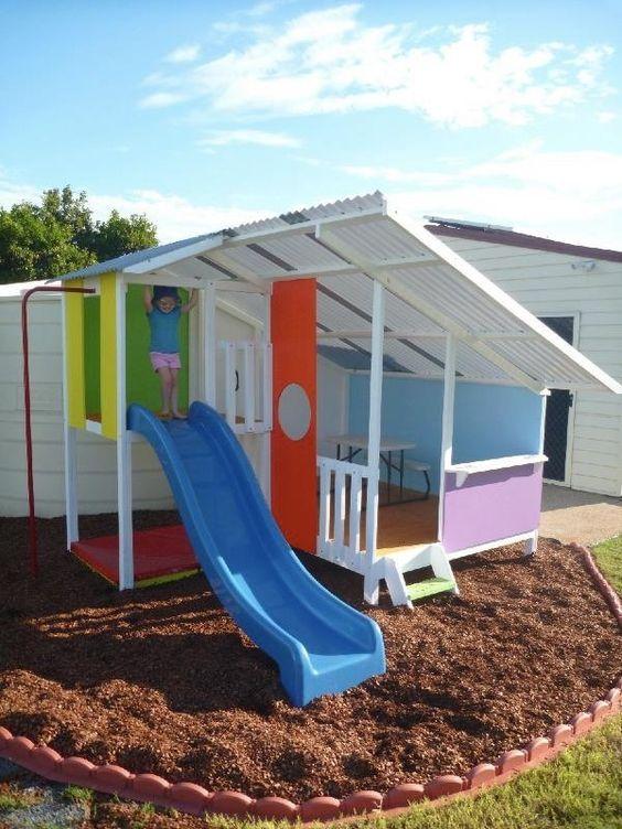 Backyard for Kids Ideas: Cozy Open Area
