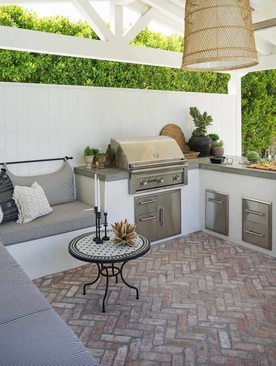 Backyard Kitchen Ideas: Lovely Kitchen Decor
