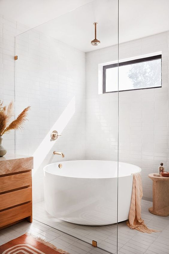 Bathroom Bathtub Ideas: Small Soaking Tub