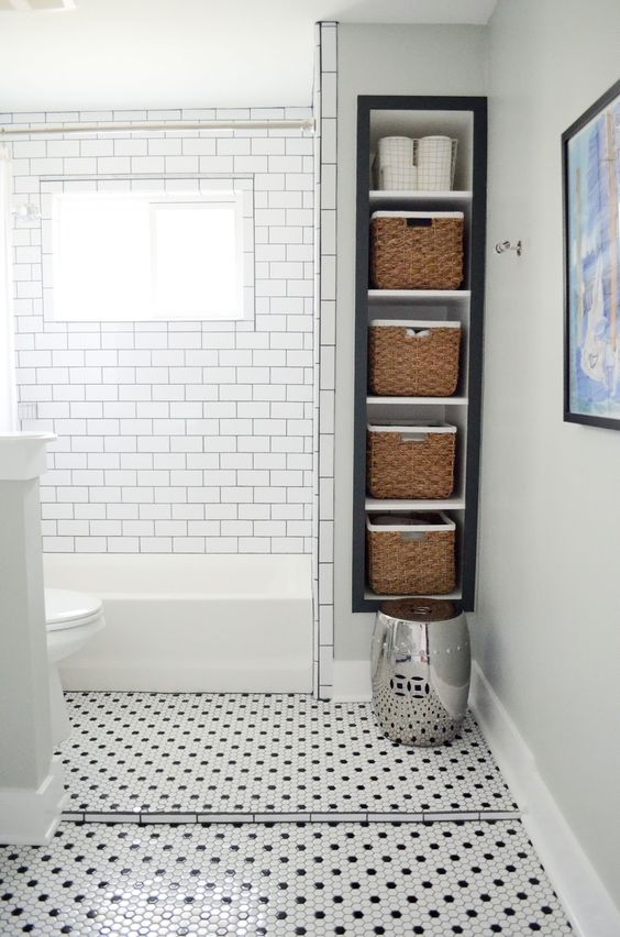 Bathroom Storage Ideas: Useful Wall Storage