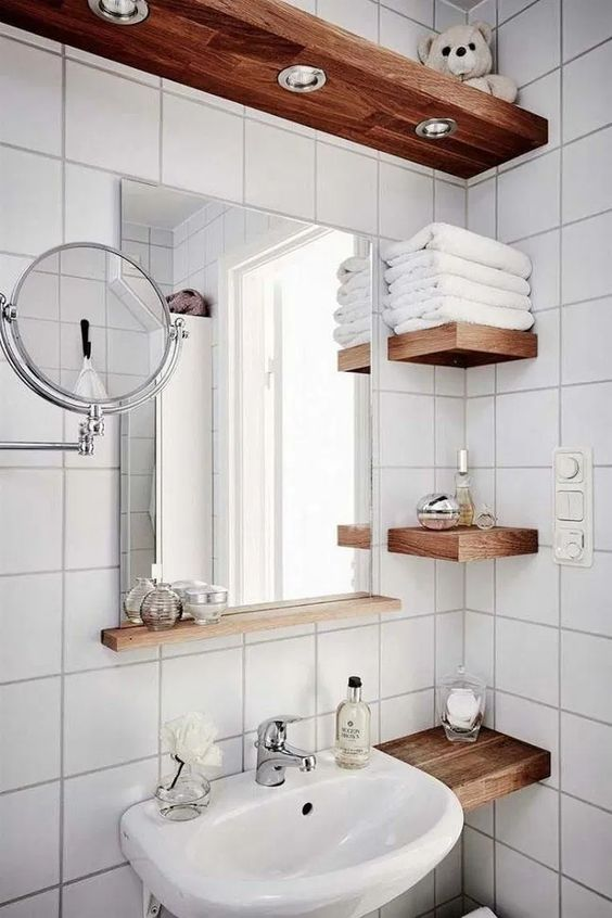 Bathroom Storage Ideas: Captivating Earthy Vibe