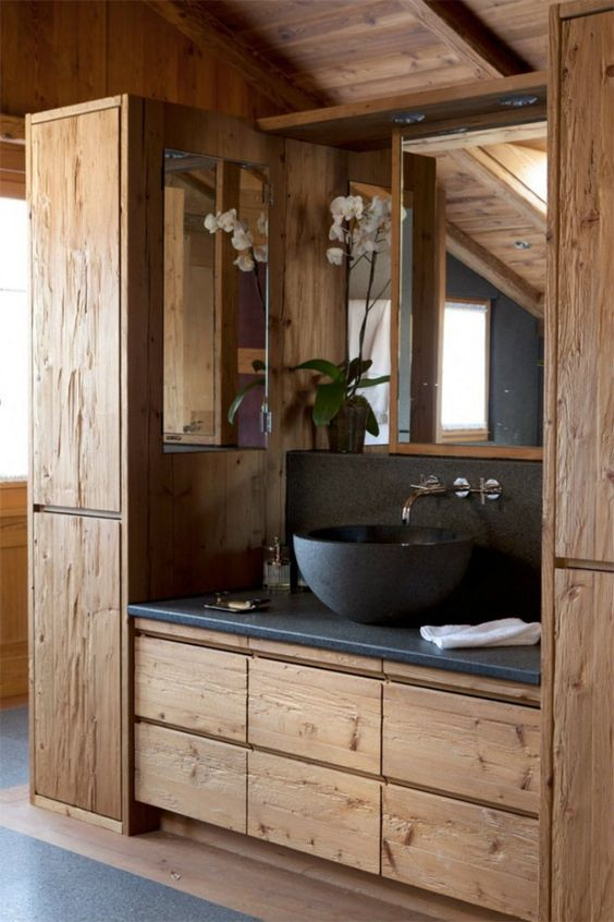 Bathroom Storage Ideas: Trendy Contemporary Vibe
