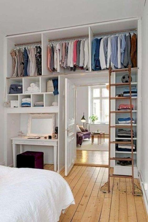 Bedroom Organization Ideas: Open Clothes Organization
