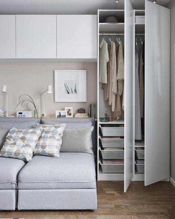 Bedroom Organization Ideas: Modern Clothing Storage