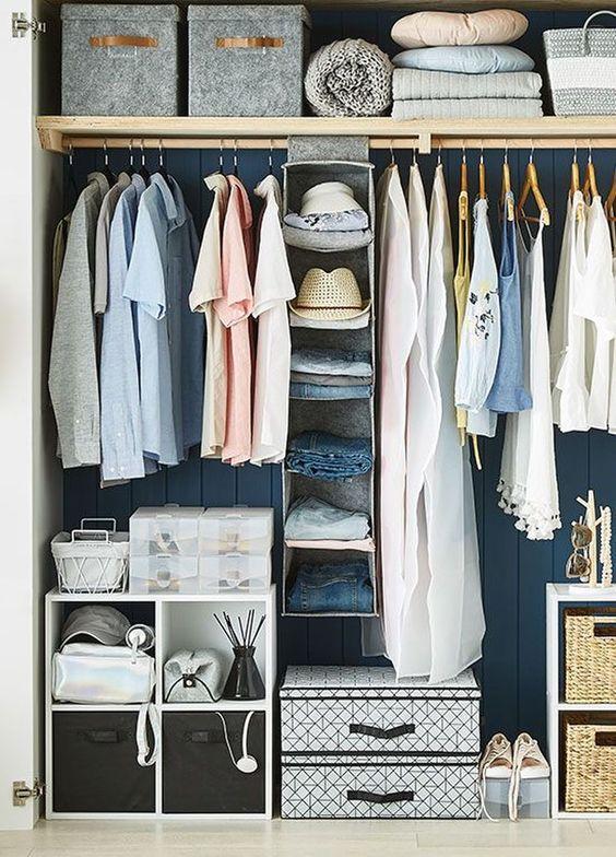 Bedroom Organization Ideas: Simple Organized Storage