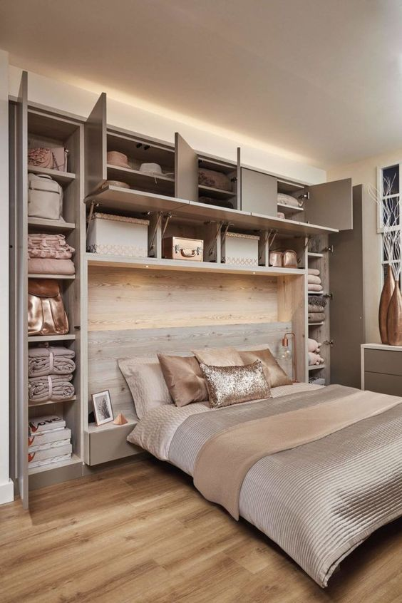 Bedroom Organization Ideas: Elegant Earthy Organization
