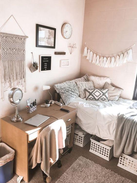 Bedroom Organization Ideas: Affordable Basket Storage