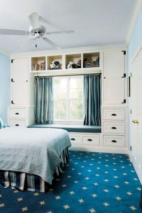 Bedroom Organization Ideas: Classic Storage Cupboard