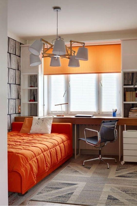 Bedroom Organization Ideas: Simple Book Shelf