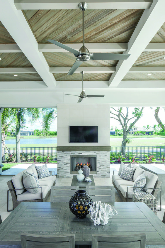 Covered Patio Ideas: Enchanting Modern Style
