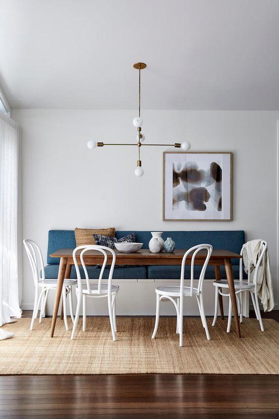 Cozy Dining Room Ideas: Minimalist Contemporary Look