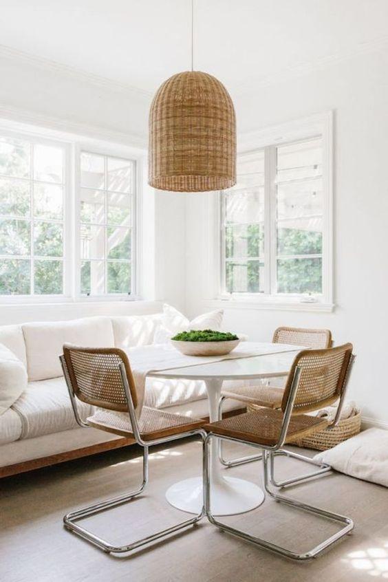 Cozy Dining Room Ideas: Bright Scandinavian Style
