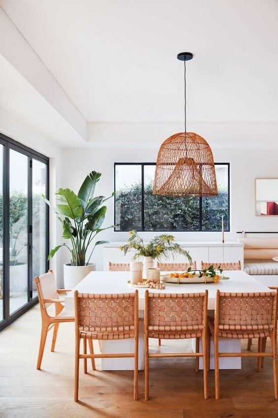 Cozy Dining Room Ideas: Warm Earthy Nuance