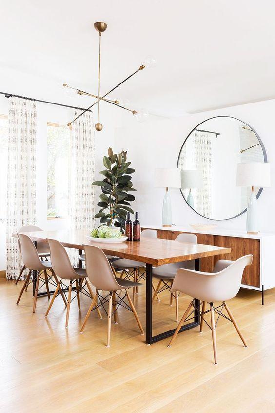 Cozy Dining Room Ideas: Trendy Modern Feeling
