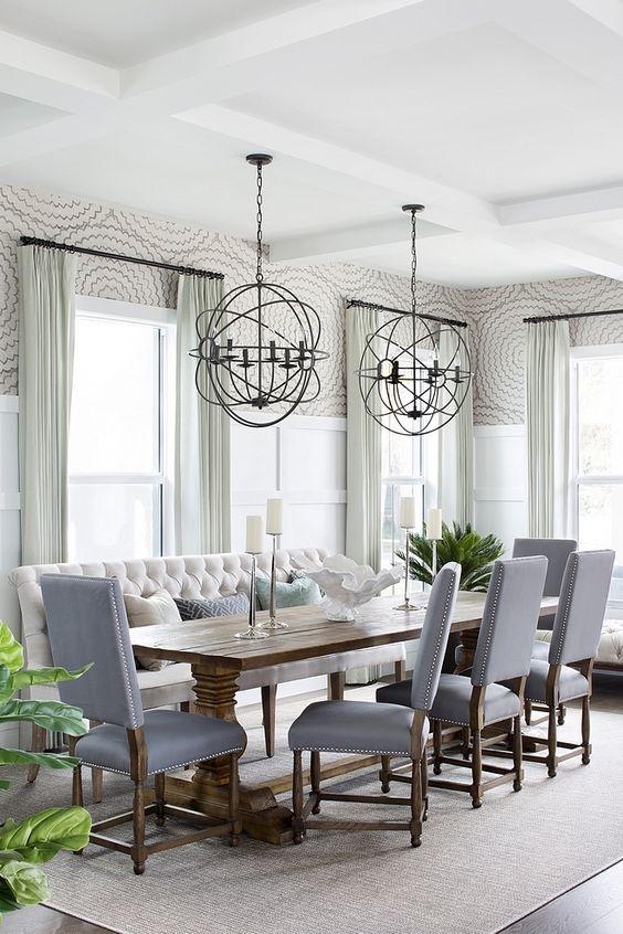 Cozy Dining Room Ideas: Modern Decorative Area