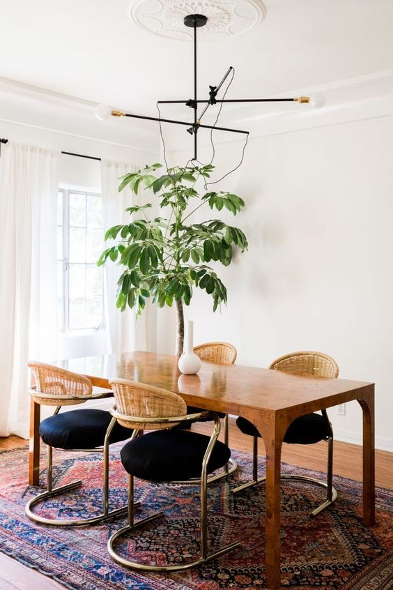 Cozy Dining Room Ideas: Mesmerizing Earthy Look