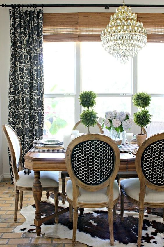 Formal Dining Room Ideas: Modern Rustic Style