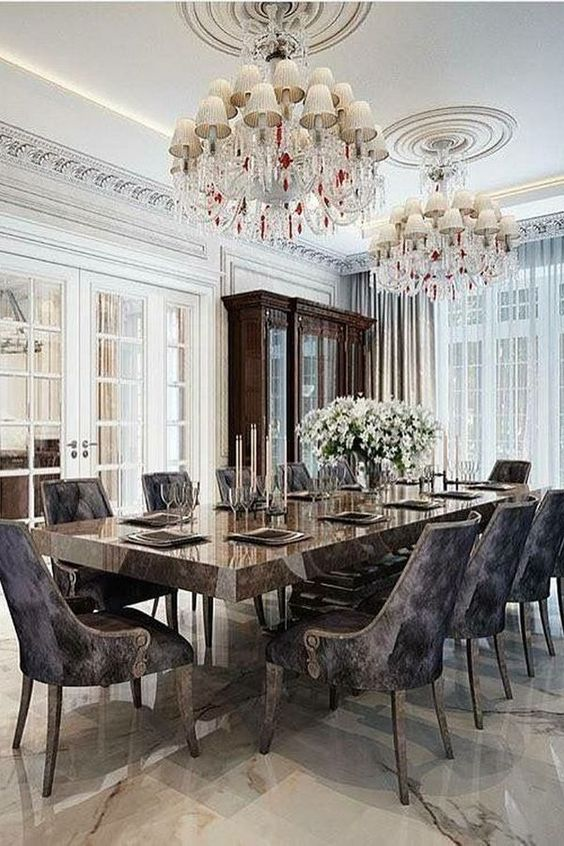 Formal Dining Room Ideas: Jaw-Dropping Color Accent