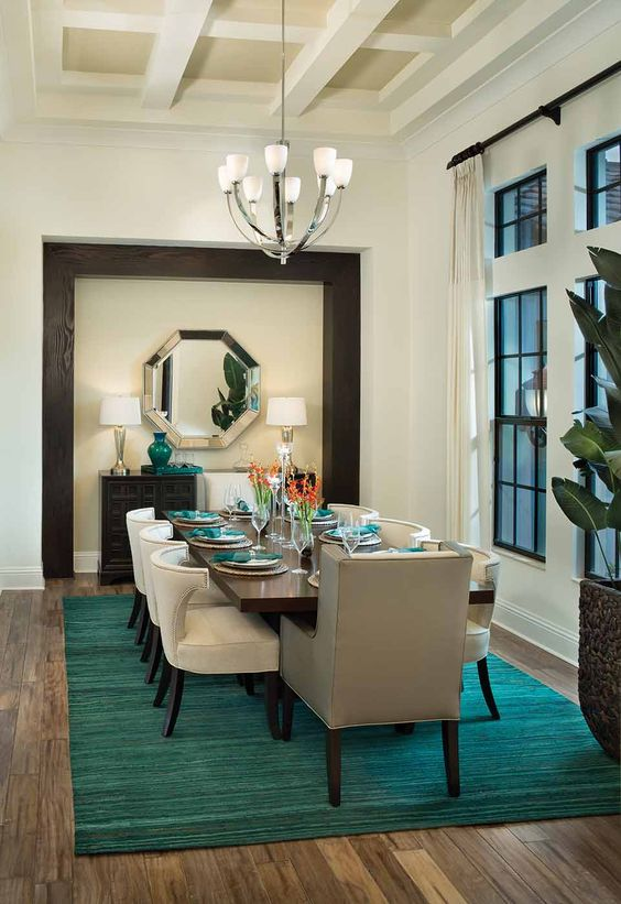 Formal Dining Room Ideas: Exhilarating Modern Touch