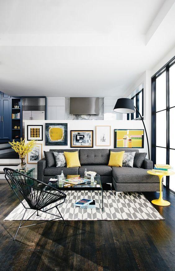 Grey Living Room Ideas: Attractive Contemporary Design