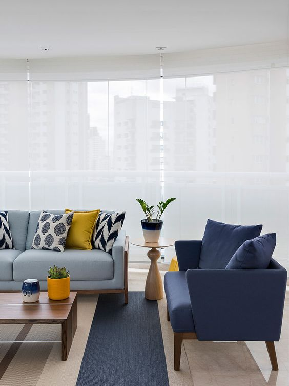Grey Living Room Ideas: Neat Minimalist Living Room