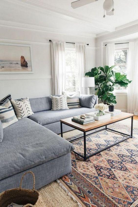 Neutral Living Room Ideas: Trendy Contemporary Design