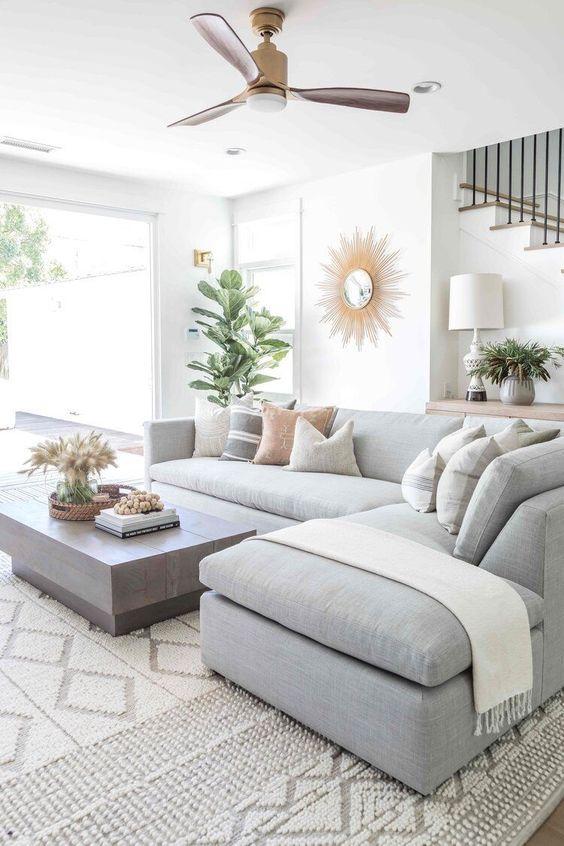 Neutral Living Room Ideas: Breathtaking Light Gray