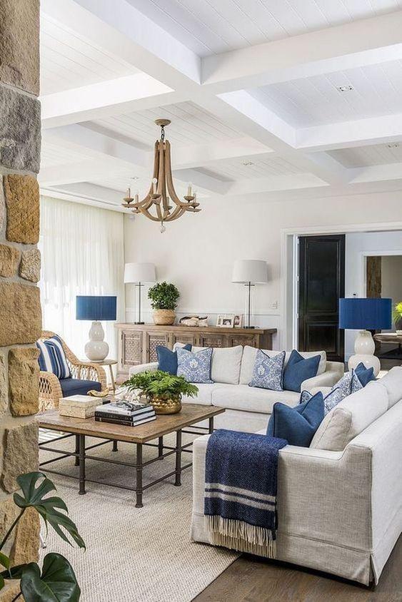 Neutral Living Room Ideas: Fresh Coastal Vibe