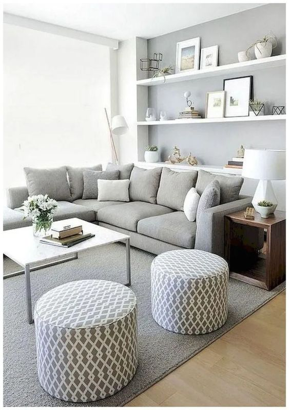 Neutral Living Room Ideas: Simple Decorative Room