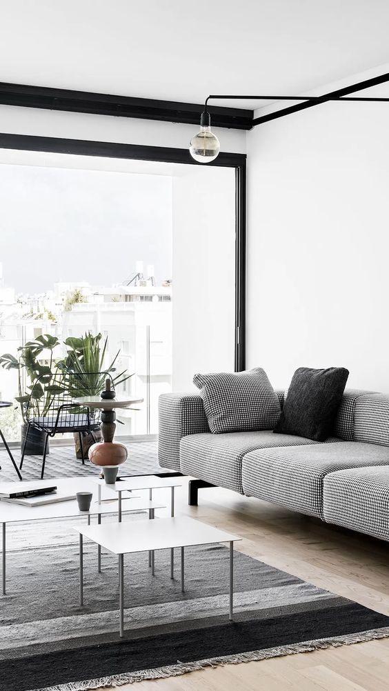 Neutral Living Room Ideas: Elegant Monochromatic