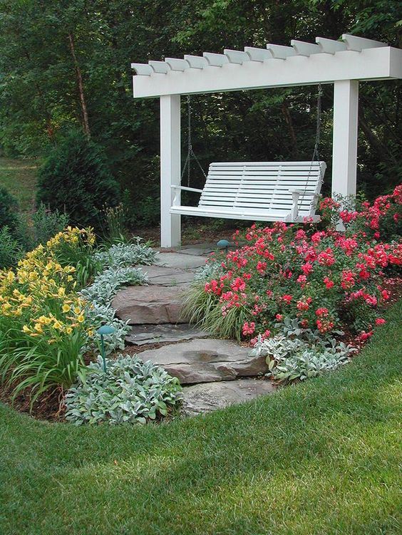 Patio Landscaping Ideas: Natural Rocky Patio