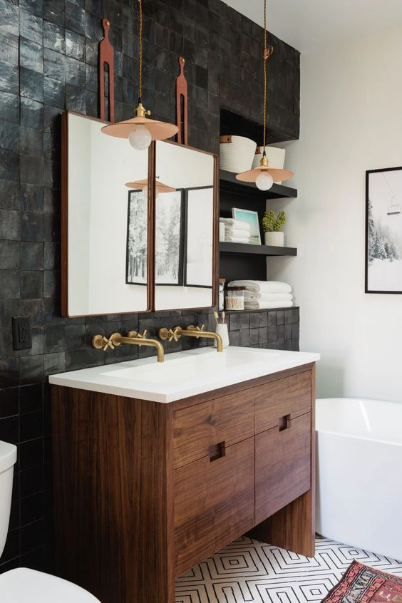 Bathroom Organization Ideas: Stylish Contemporary Design