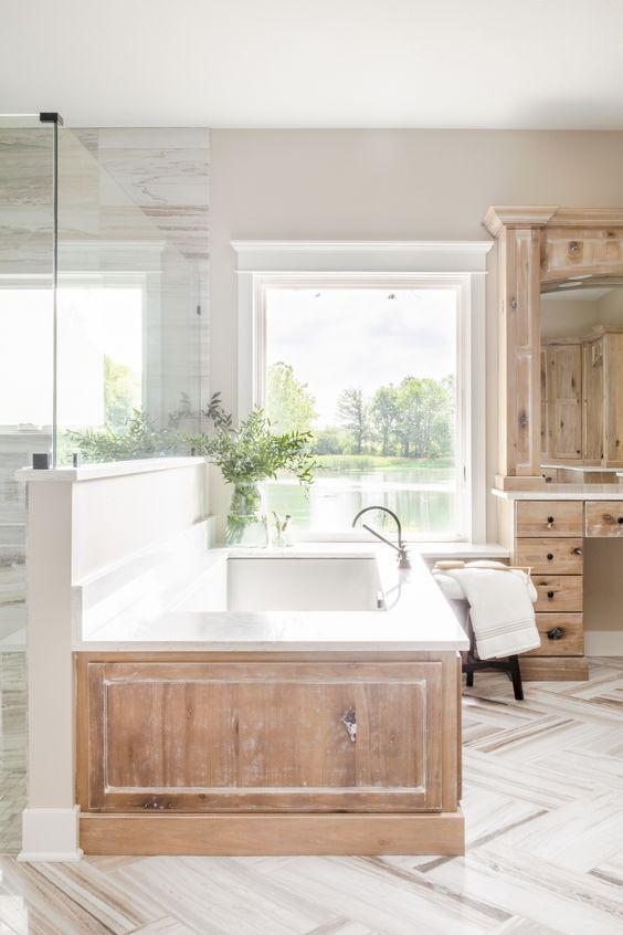 Bathroom Remodel Ideas: Stunning Modern Rustic