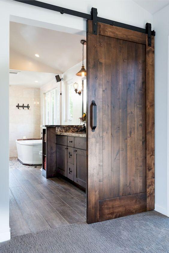 Bathroom Remodel Ideas: Earthy Wood Domination