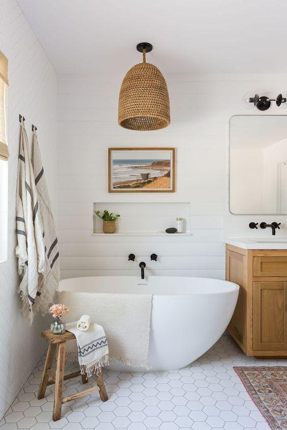 Bathroom Remodel Ideas: Elegant Modern Bathroom