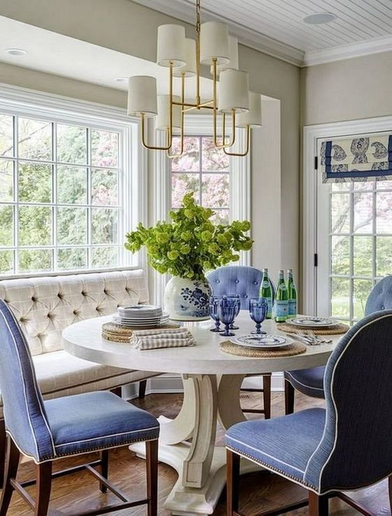 Coastal Dining Room Ideas: Elegant Nautical Accent