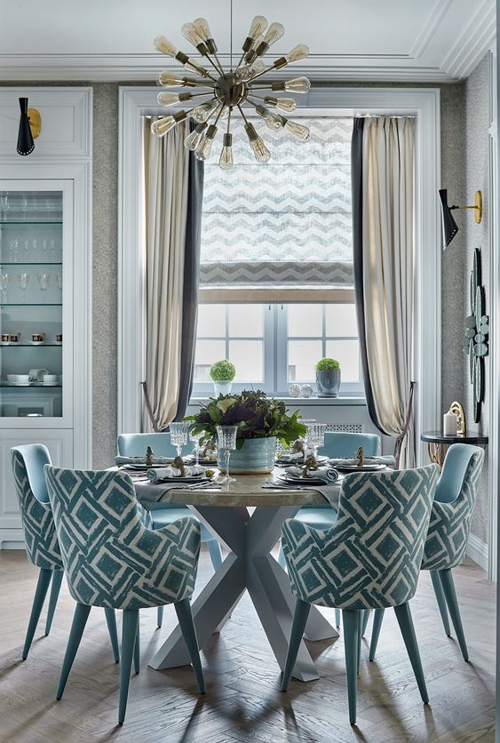Coastal Dining Room Ideas: Modern Beachy Vibe